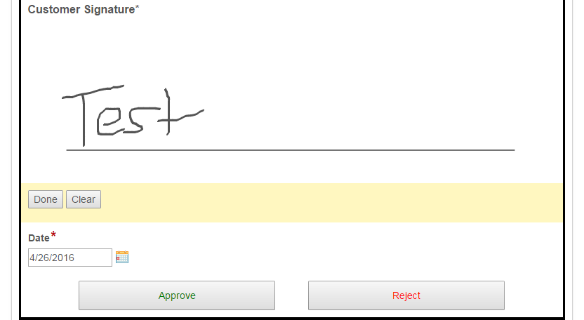 jSignature not displaying when submitted - Laserfiche Answers