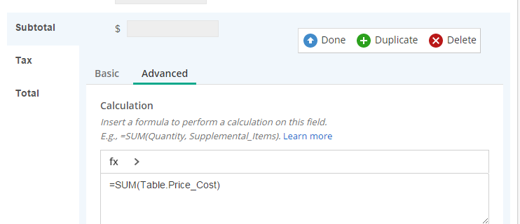 Javascript calculating Forms 10 totals plus keep two decimal