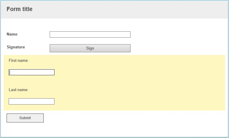 Assign html variable in template field in form - Laserfiche Answers