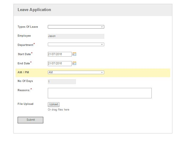 Calculation in Form for leave application - Laserfiche Answers