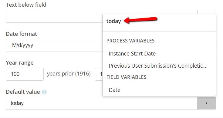 Forms Autofill Date on load - Laserfiche Answers
