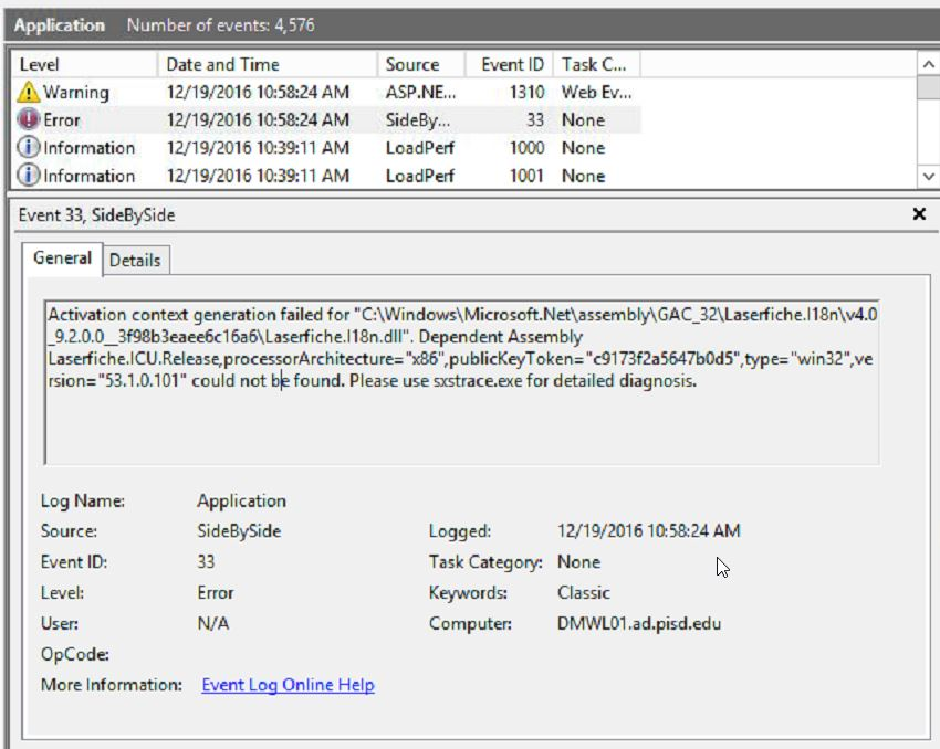 How to obtain the 32-bit 'Laserfiche I18n dll' from the SDK files
