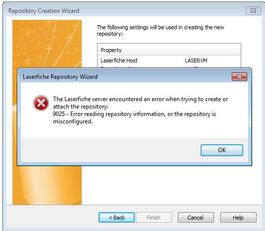Error Log: Adding New Repository Fails?