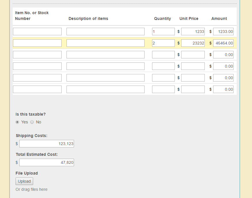 enable commas within the currency fields to work with calculation