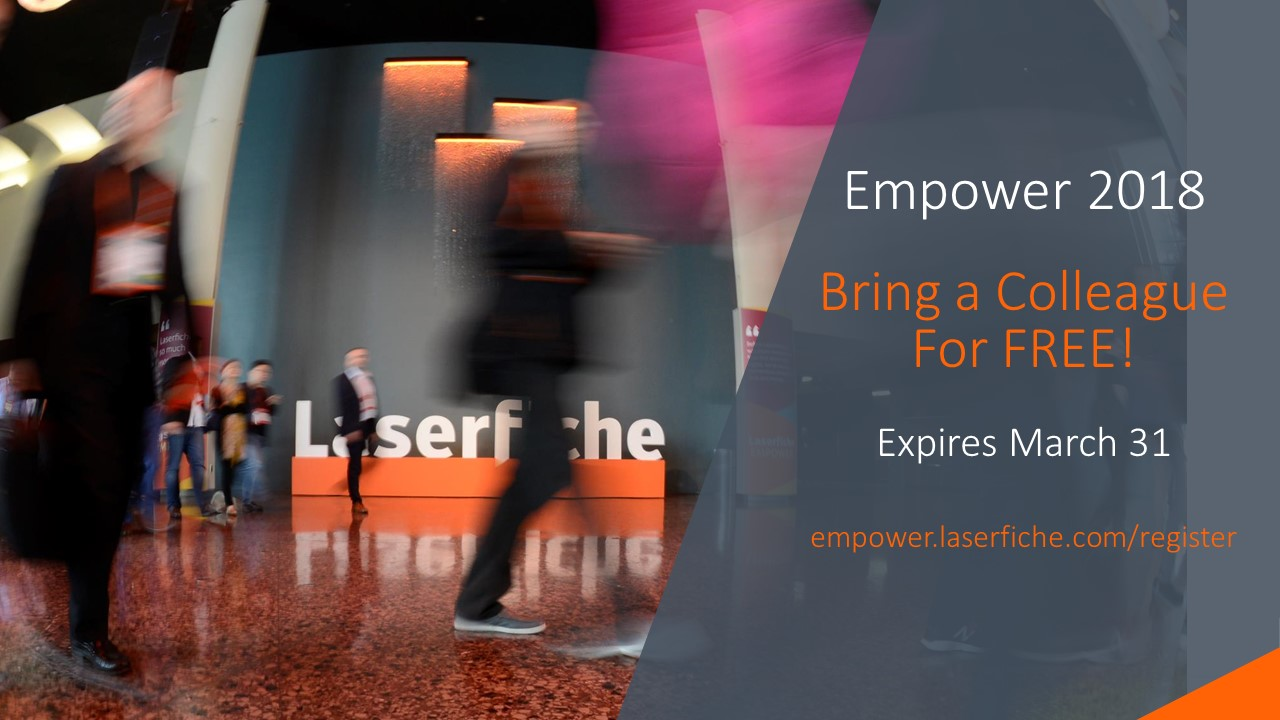 empower registration is now open register now bring a at empower 2018 you and your team will learn about the future of the digital workplace and how you can prepare your organization for it