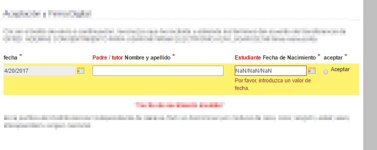 When using Google Translate in Forms 10 1, the date picker