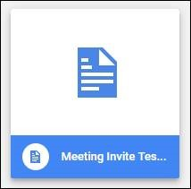 How do I attach a direct download link to an Outlook Meeting