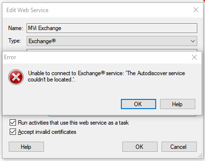 Setting Up Exchange Web Service - Laserfiche Answers