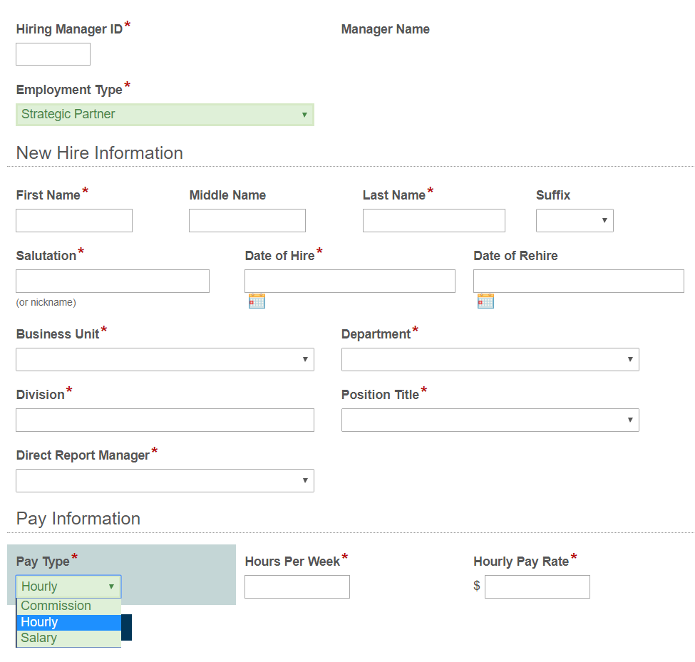 Change Drop Down Field Value Based on Selection of a