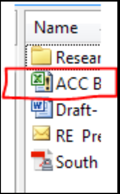 What does a exclamation mark on the icon file mean? - Laserfiche Answers