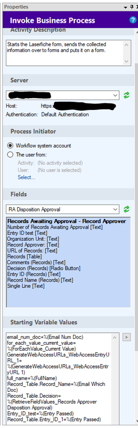 How to update the record through the form  - Laserfiche Answers