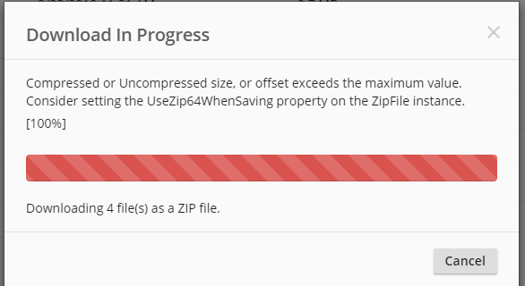 Error : Weblink & WebAccess both receive error when