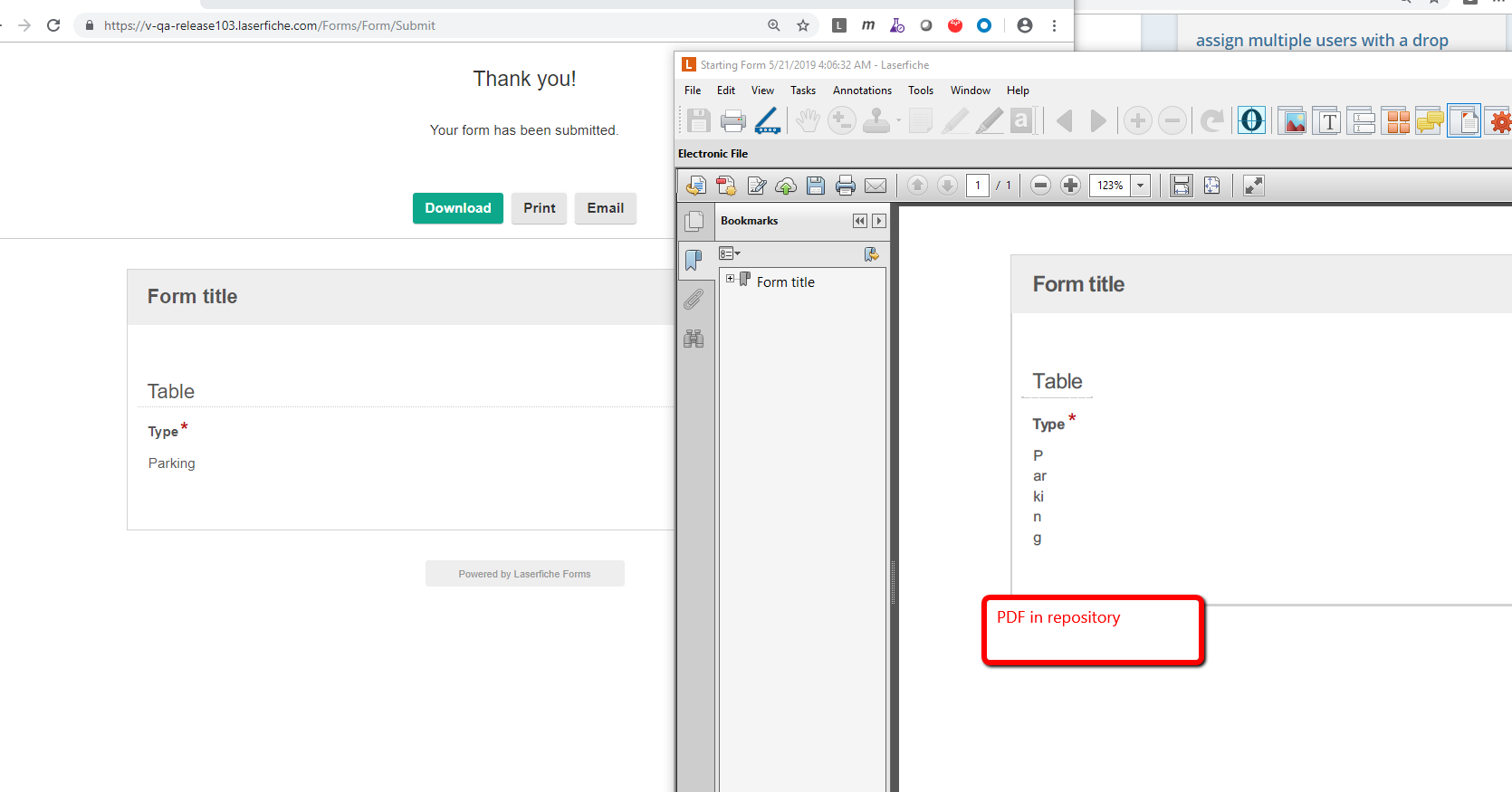 Automatically Generated Link in Email System Task - Laserfiche Answers