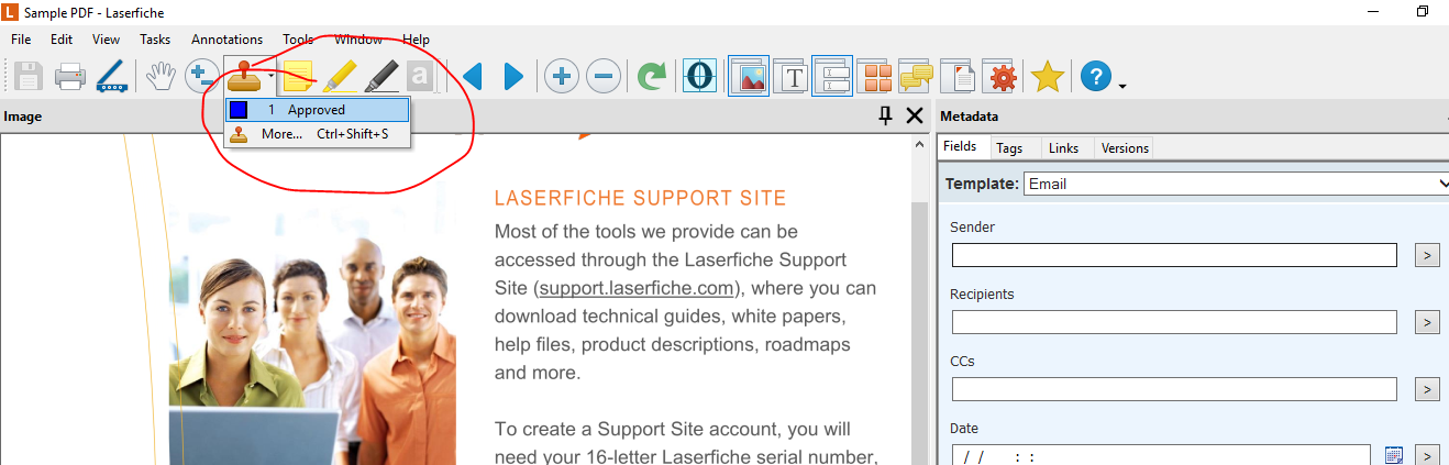 Stamp Pane Open Default in Doc Viewer - Laserfiche Answers