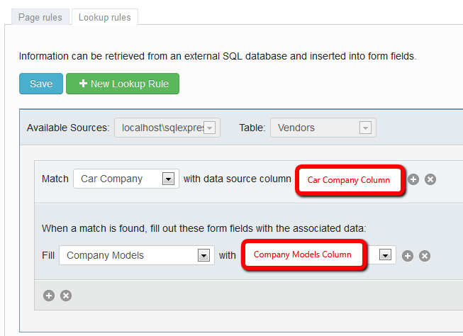 Fill dropdown field in Forms from SQL Database - Laserfiche Answers