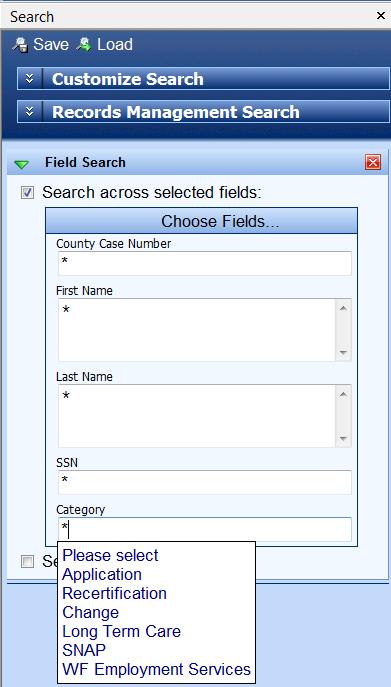 Issue w/ Dropdown fields using asterisk - Laserfiche Answers
