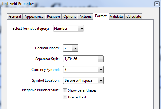Fillable Pdf Not Keeping The Currency Setting Laserfiche Answers