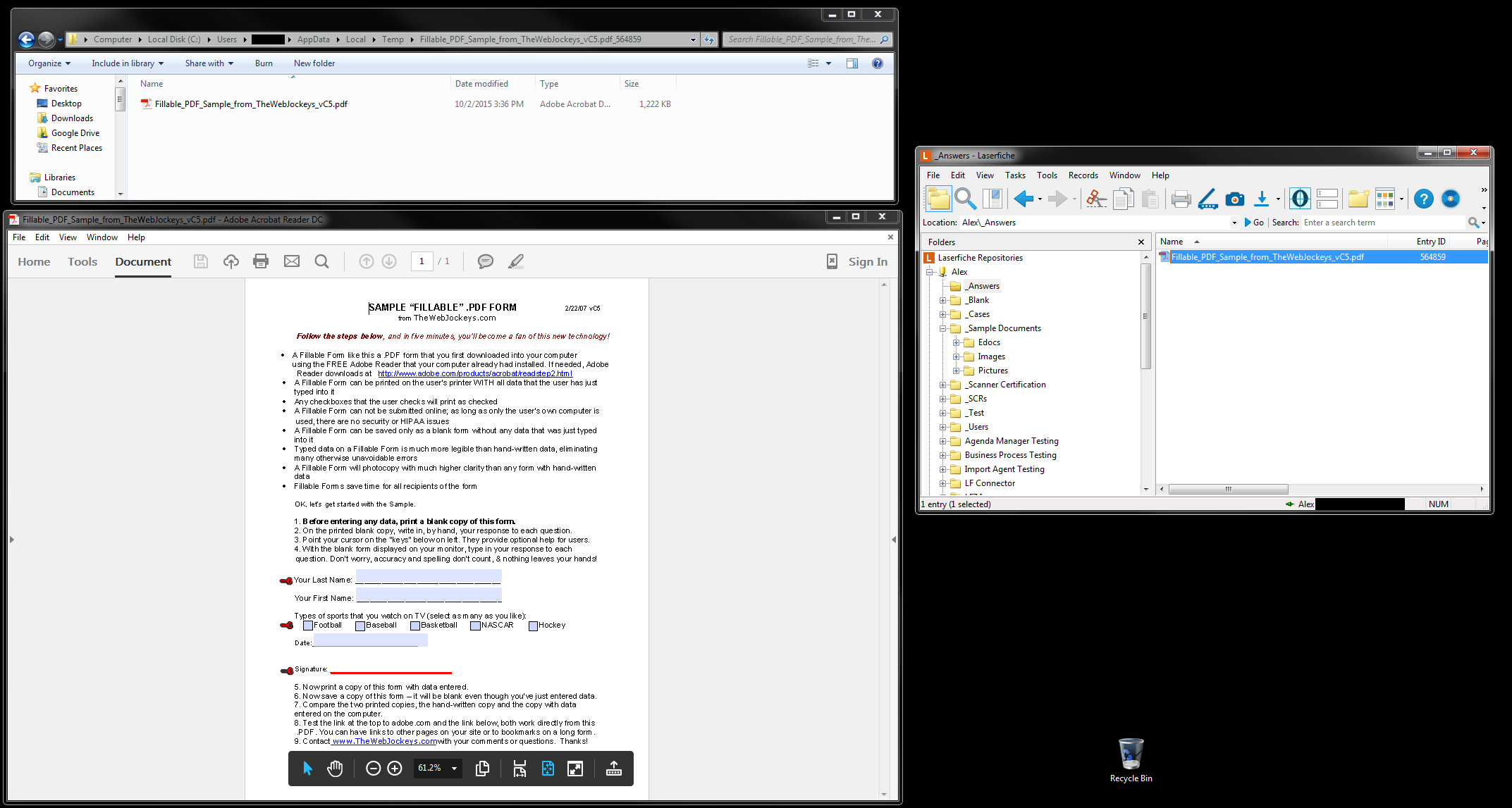 adobe reader dc marking up a pdf document