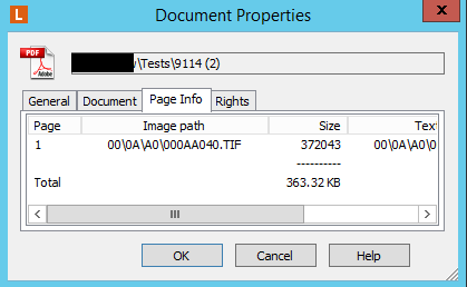 itext convert pdf document to memory