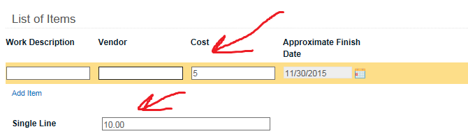 dnrgps how to make decimal change