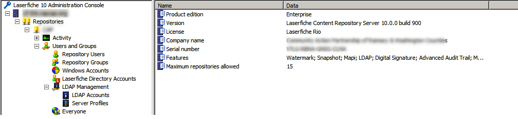 LF Server 10 cannot connect with LFDS - Laserfiche Answers