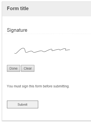 Trying to use Wacom STU-530 in place of jSignature in Forms