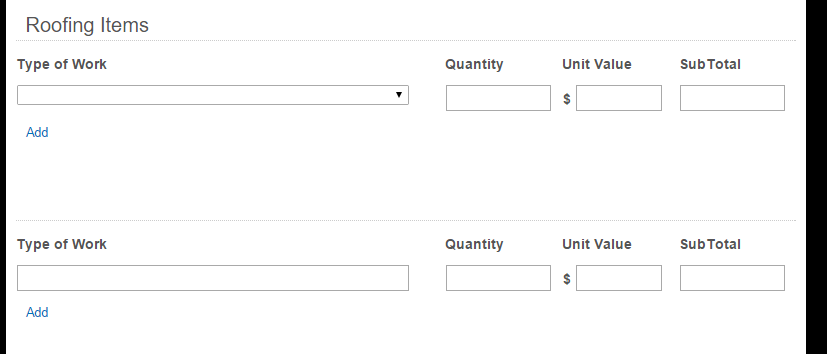 Currently I Have 2 Tables, One With A Drop Down And The Second It Typeable.  Is Tehre A Way To Have It In One Table?