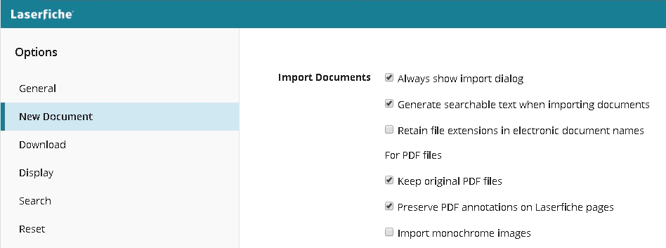 Generating Searchable Text on Import in WebAccess